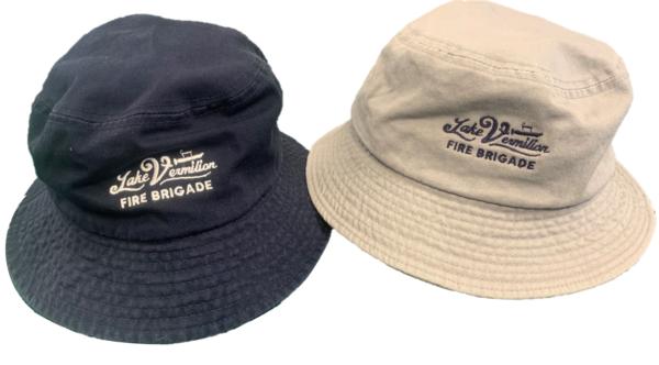 Navy and Tan Bucket Hats